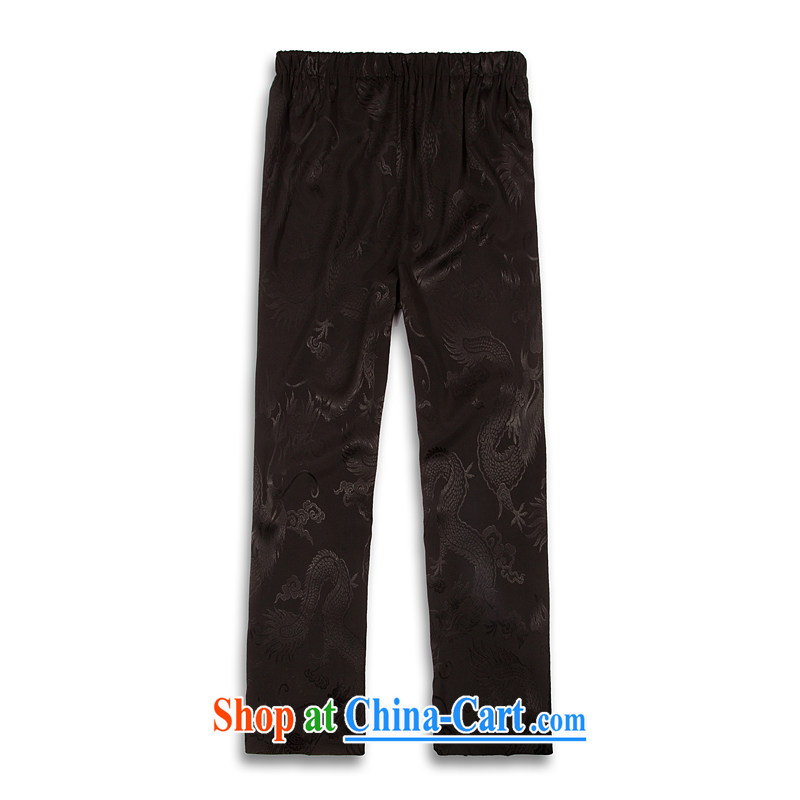 VeriSign, Po 2015 spring and summer with new products, the BMW China wind Tang pants men's stylish Tang serving casual pants B - Black XXXXL, the fruit, and, shopping on the Internet