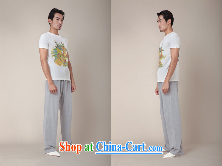 Fujing Qipai Tang without a road design, the Chinese short-sleeved hot stamp leading T pension new explosions, Chinese personality male and TEE 346 white XL pictures, price, brand platters! Elections are good character, the national distribution, so why buy now enjoy more preferential! Health