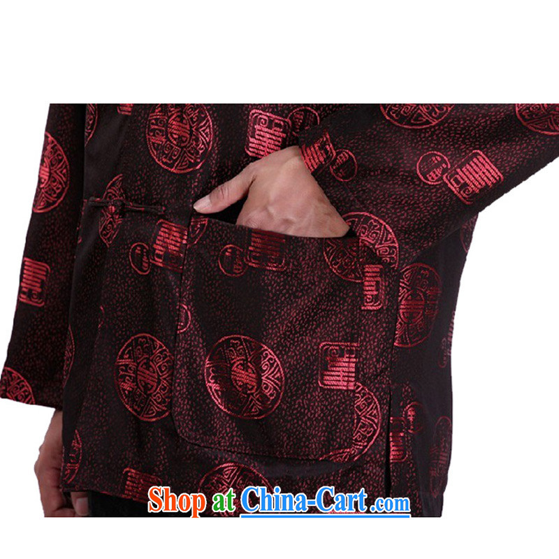 This figure skating pavilion, new and old in fall and winter the Tang on the collar long-sleeved top tray for leisure increased, autumn and winter clothes cotton warm - 1335 Red single 4 XL, Charlene this Pavilion, shopping on the Internet
