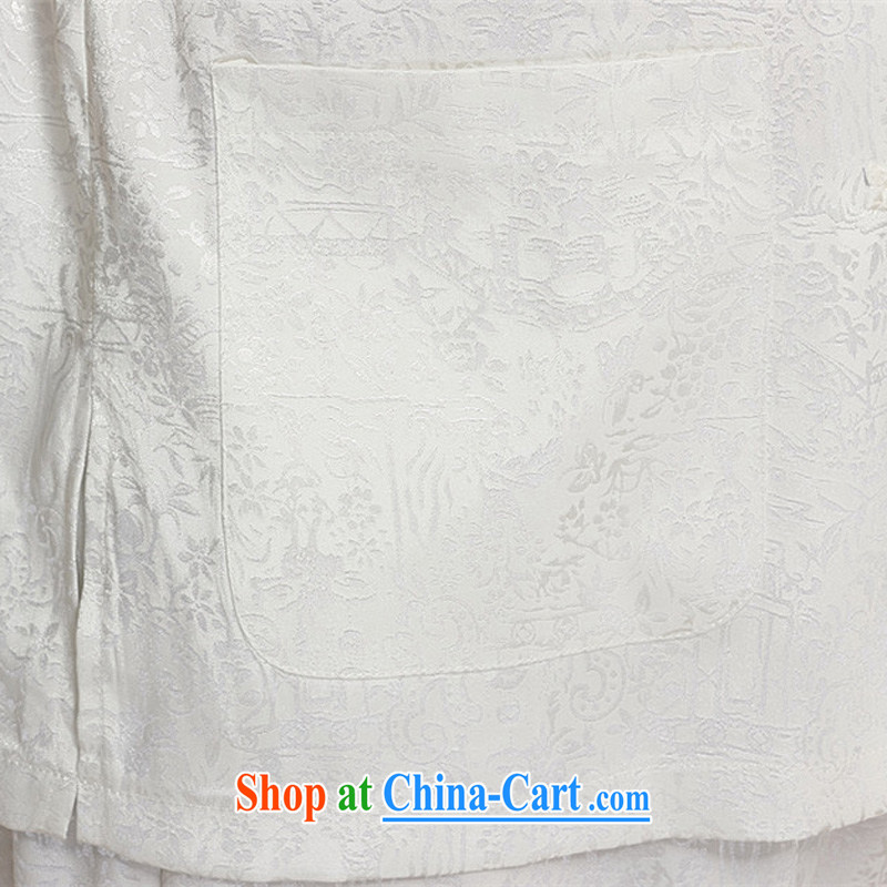 MR HENRY TANG Mount Kit 2015 men included in the kit, elderly Chinese men and a short-sleeved Chinese Tang replacing Tang replace older package men and white XXXXL 185, the Tony Blair (AICAROLINA), shopping on the Internet