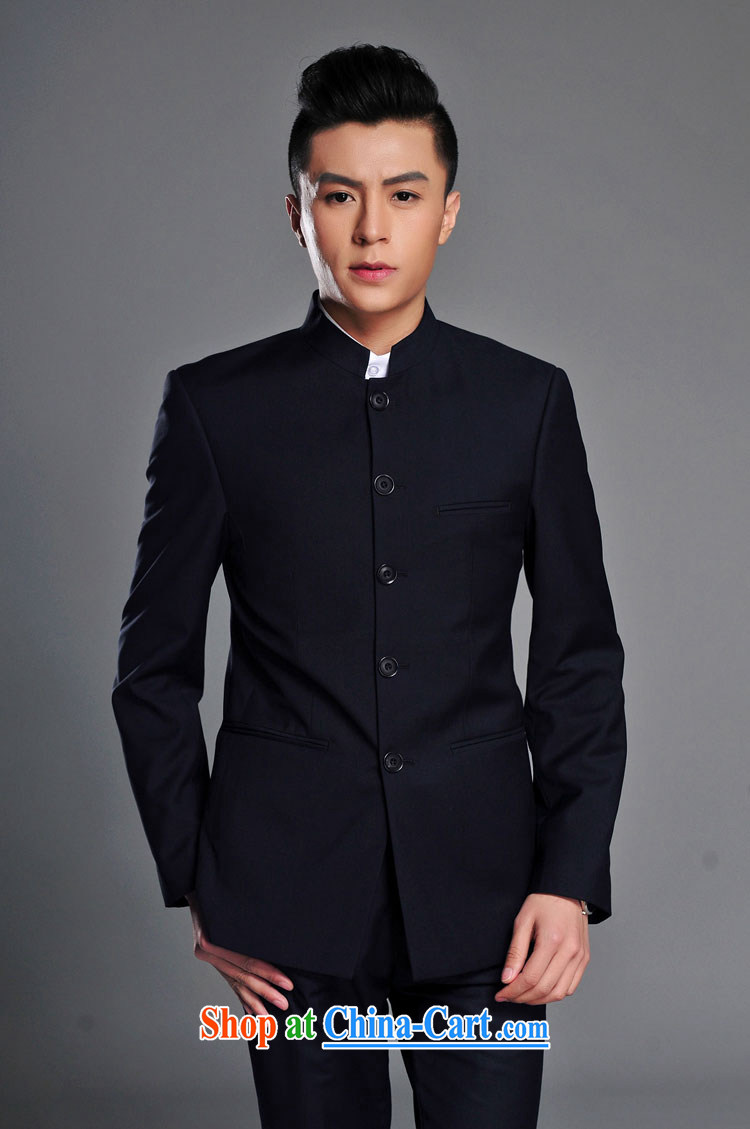 D - KAF New Men's spring-loaded men, for package official smock two-piece dark blue 185 pictures, price, brand platters! Elections are good character, the national distribution, so why buy now enjoy more preferential! Health