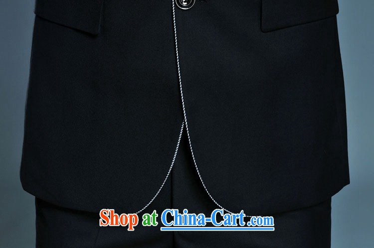 D - KAF New Men's spring-loaded men and smock collar is rimmed Kit two-piece black 180 pictures, price, brand platters! Elections are good character, the national distribution, so why buy now enjoy more preferential! Health