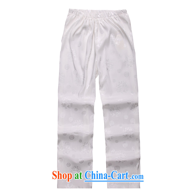 2015 spring and summer with new products, the BMW China wind Chinese pants B - 004 white B XXXL