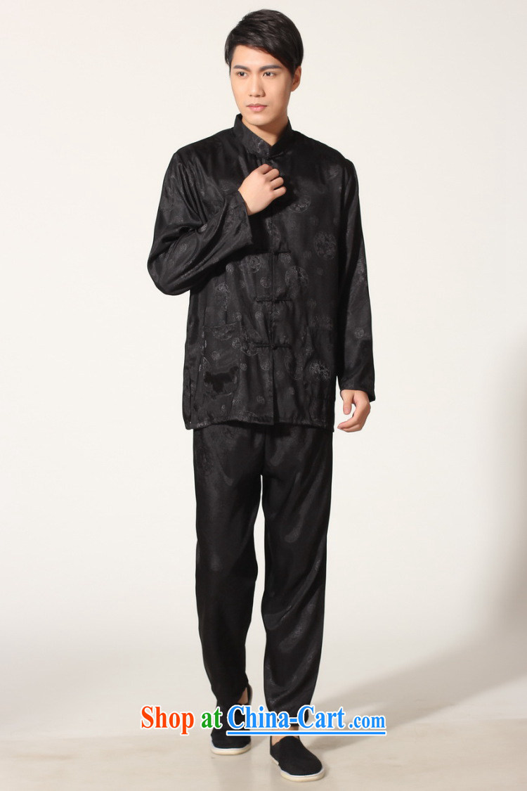 Shanghai, optimize the purchase older Chinese men and summer, for silk men's long-sleeved package the code men's kung fu Package - A black XXL recommendations 180 - 210 Jack pictures, price, brand platters! Elections are good character, the national distribution, so why buy now enjoy more preferential! Health