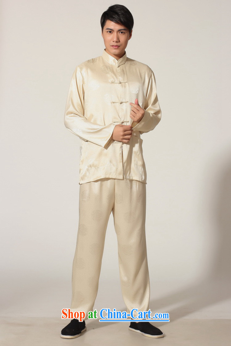 Shanghai, optimize purchase middle-aged and older Chinese men and spring and summer, for silk long-sleeved Kit Chinese men Kung Fu Kit Tai Chi uniforms M 0049 white XXL recommendations 180 - 210 Jack pictures, price, brand platters! Elections are good character, the national distribution, so why buy now enjoy more preferential! Health