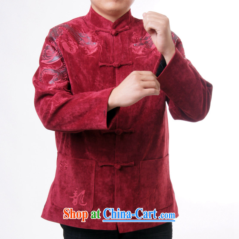 Ying Shi's new men and Chinese Spring and leisure, for birthday wishes Chinese Chinese Birthday gift, 0983 red 190