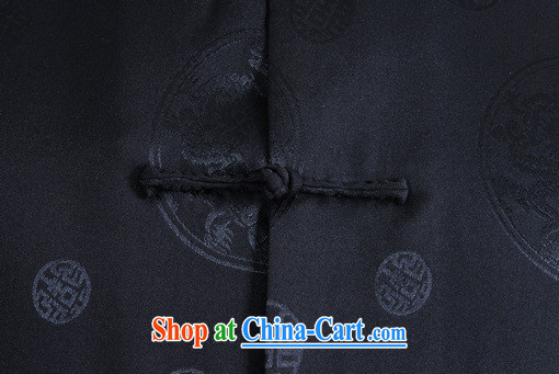 And Jing Ge older Chinese men and summer Chinese improved Chinese men's short-sleeved larger male black XXXL pictures, price, brand platters! Elections are good character, the national distribution, so why buy now enjoy more preferential! Health