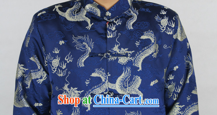 Sureyou ying, Mr Rafael Hui, genuine male New Men's Spring and Autumn and casual male Chinese, for Chinese Blue Dragon jacket Blue Dragon, blue 190 pictures, price, brand platters! Elections are good character, the national distribution, so why buy now enjoy more preferential! Health