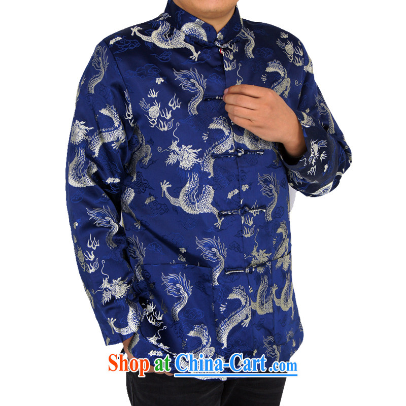Sureyou ying, Mr Rafael Hui, for its part, is for the installation of new, men's spring casual male Chinese, for Chinese Blue Dragon jacket Blue Dragon, blue 190, British, Mr Rafael Hui, (sureyou), shopping on the Internet