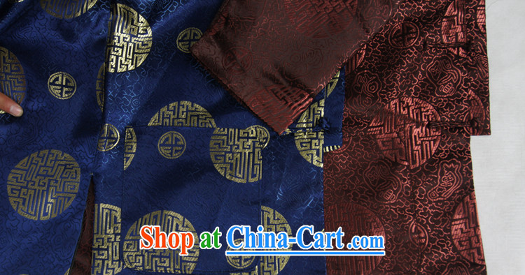 Ying Shi's new men and Chinese Spring and leisure, for birthday wishes Chinese Tang with the HI 3 color pattern birthday gift, blue 190 pictures, price, brand platters! Elections are good character, the national distribution, so why buy now enjoy more preferential! Health