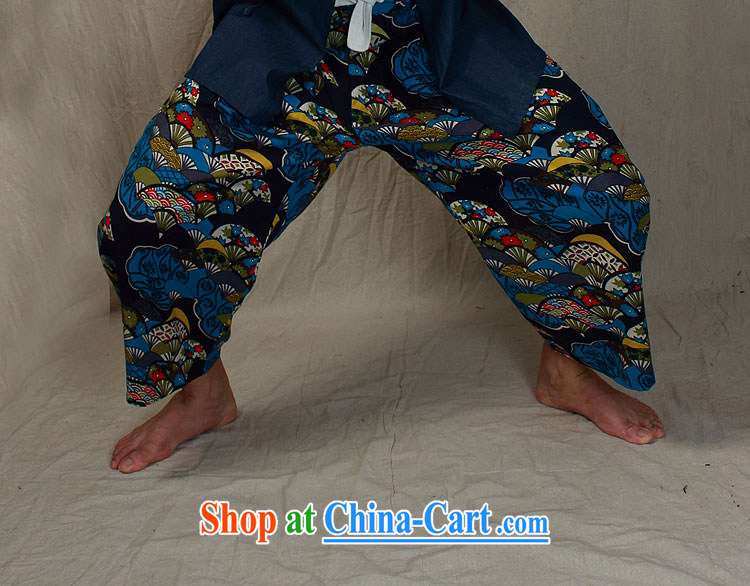 elections the Qin weaving -- original design China wind cowboy a flap disc for improved Han-shirts to blue XXL/Jumbo pictures, price, brand platters! Elections are good character, the national distribution, so why buy now enjoy more preferential! Health