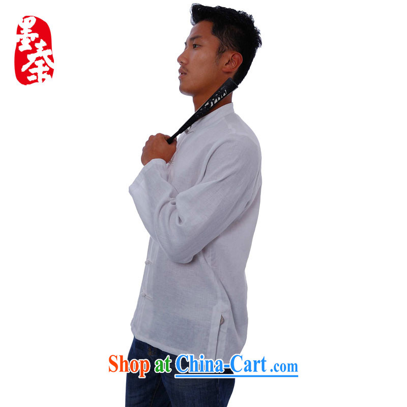elections the Qin weaving -- Business Track/small, for China wind the withholding features long-sleeved men's casual shirt white XXL/Jumbo, the Qin, shopping on the Internet