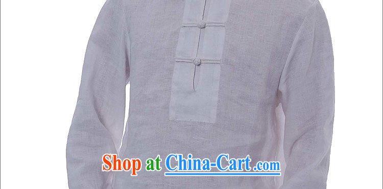 elections the Qin weaving -- not the central/the collar flap, snap plain linen china wind leisure men's 8661 white XXL/Jumbo pictures, price, brand platters! Elections are good character, the national distribution, so why buy now enjoy more preferential! Health