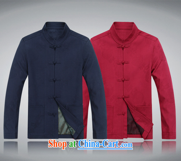 The chestnut mouse, older men and pure cotton Chinese men jacket jacket Chinese Disc fall back on pure cotton larger Tang jackets men's red 175 pictures, price, brand platters! Elections are good character, the national distribution, so why buy now enjoy more preferential! Health
