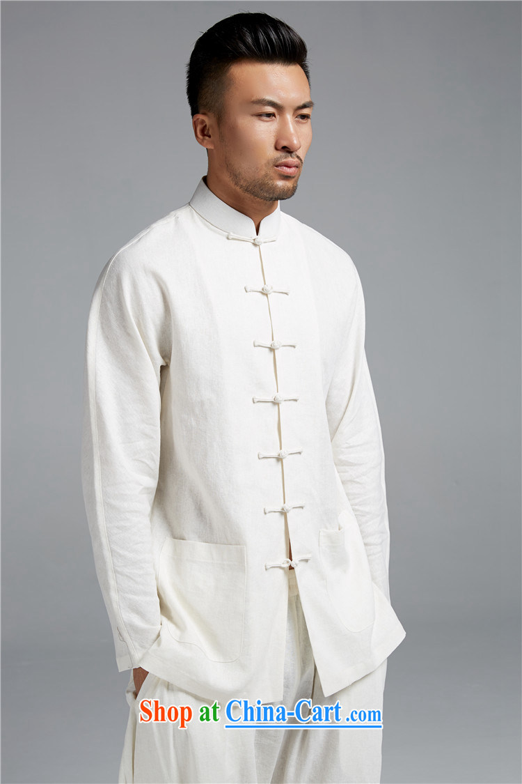 Ask a vegetarian (the health of spring loaded new products men's Chinese-buckle cotton Ma Sau San, T-shirt shirt WXZ 1549 white XL pictures, price, brand platters! Elections are good character, the national distribution, so why buy now enjoy more preferential! Health