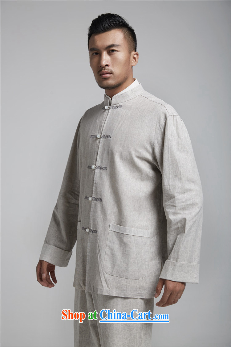 Ask a vegetarian (the health of spring loaded new China wind-tie linen smock embroidery Chinese WXZ 1494 light gray XXXXL 190 / 108 pictures, price, brand platters! Elections are good character, the national distribution, so why buy now enjoy more preferential! Health