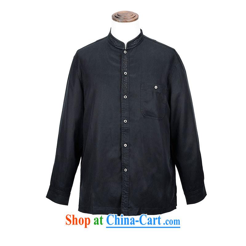 MOUNTAIN retro comfort Tony BLAIR's long-sleeved Chinese CC 221 2842 black M