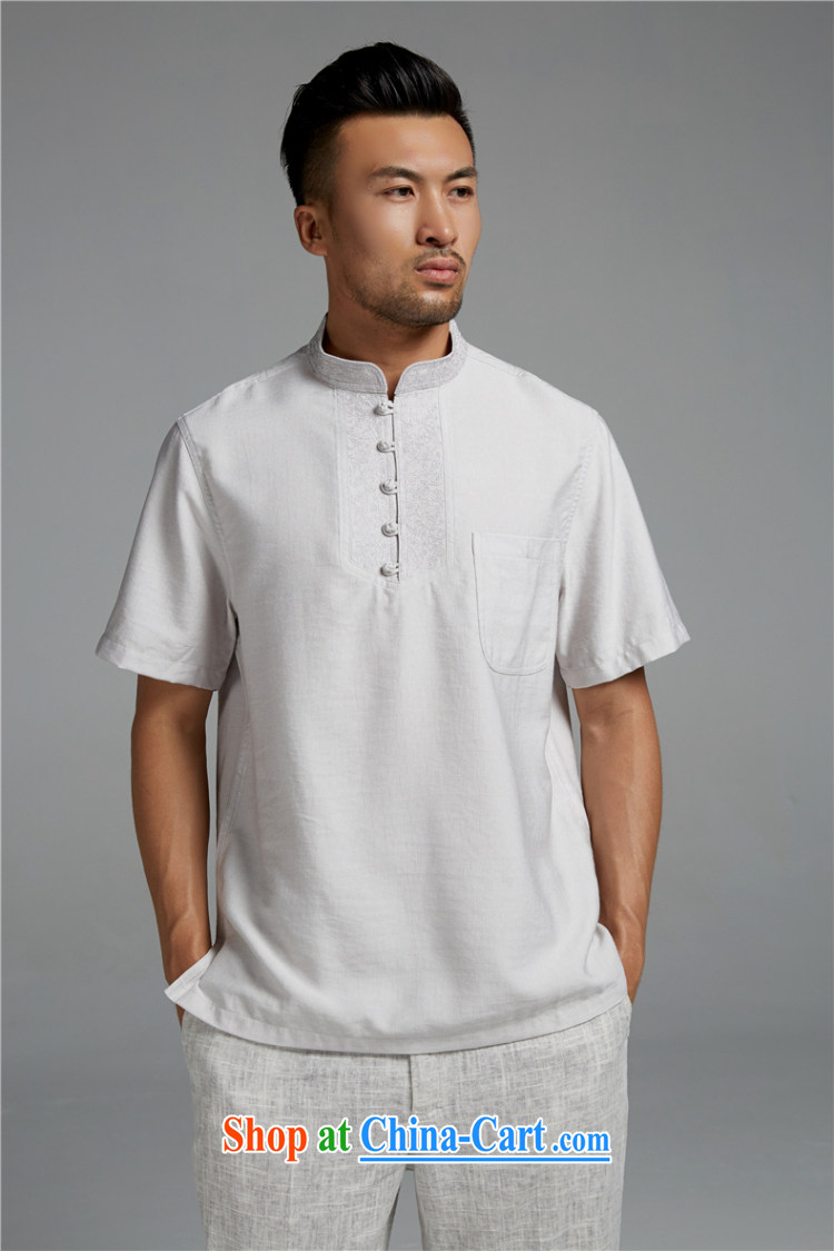All elections Ramadan's mission as soon as possible and men's summer, the charge-back the collar cotton Ma T shirts men's short-sleeved 1429 white xxxxl pictures, price, brand platters! Elections are good character, the national distribution, so why buy now enjoy more preferential! Health