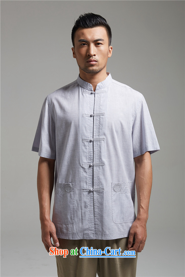 Ask a vegetarian (the health of spring loaded new units, the Commission adopted the shirt clip embroidery Chinese T-shirt WXZ 1428 gray XXXL pictures, price, brand platters! Elections are good character, the national distribution, so why buy now enjoy more preferential! Health