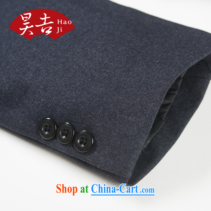 Ho-gil, older men's autumn smock Kit older persons Sun Yat-sen suit jacket father Father With China wind blue 72 (170), Ho Chi, shopping on the Internet