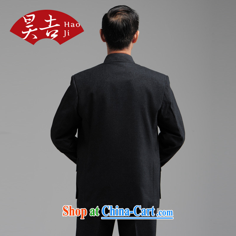 Hao, autumn and winter, older men smock Kit older persons Sun Yat-sen suit father Father with dark gray 78 (185) and Ho-gil, shopping on the Internet