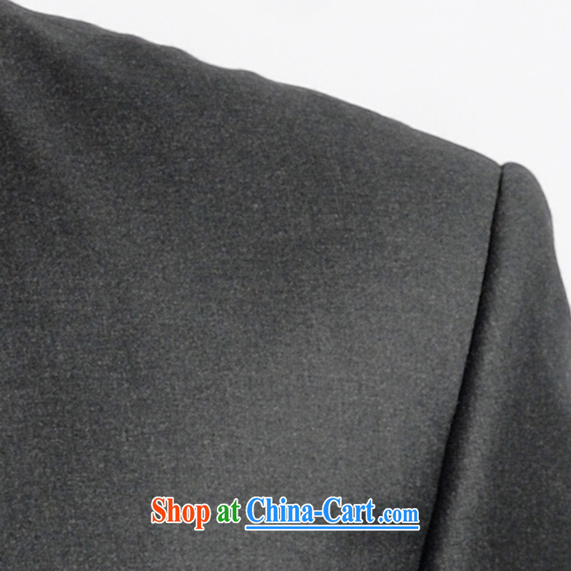 Both the Red Cross smock Kit business and leisure the service package imported fabrics woolen Zhongshan serving the president, 22,655 dark gray 185/110, the Red Cross, and, shopping on the Internet
