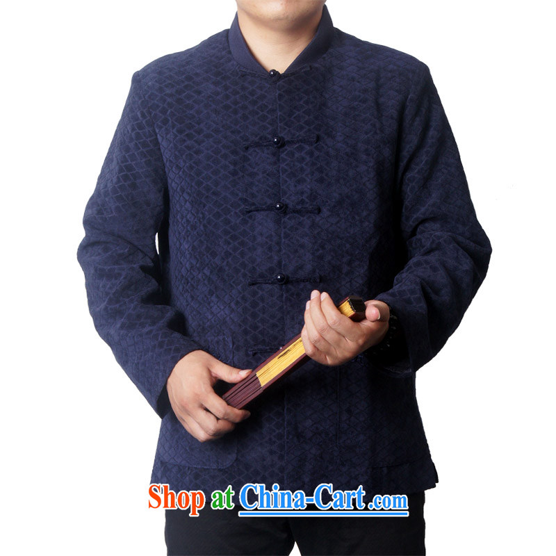 The British, Mr Rafael Hui, and new Chinese men's high quality spring loaded Tang Tang and replace the jacket Chinese small, for men's 732 blue 190