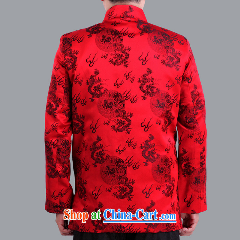 Autumn and Winter Celebration of marriage red Tang jackets in the old life, and Tang replace old life and Chinese S 1102 red 190 code quilted winter, Adam, elderly, and shopping on the Internet