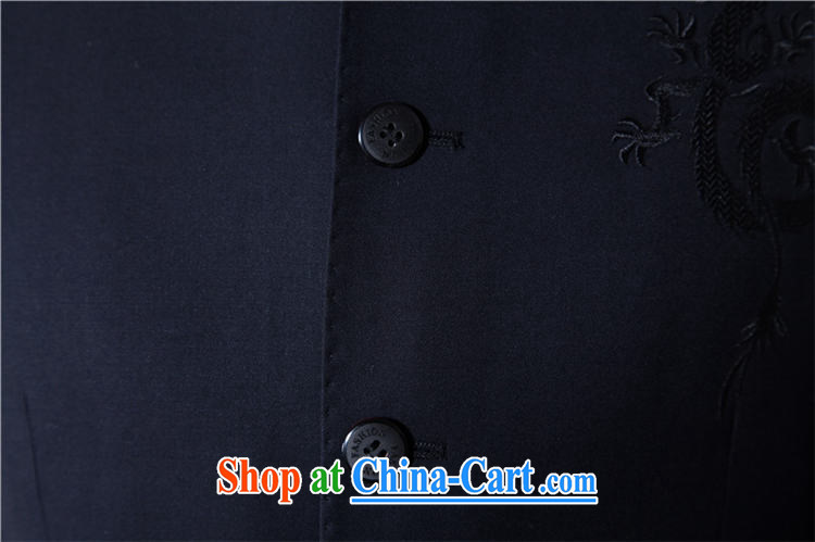 Male Chinese style Chinese, smock for men's leisure youth replace suit package blue-black suit smock black blue 190 pictures, price, brand platters! Elections are good character, the national distribution, so why buy now enjoy more preferential! Health