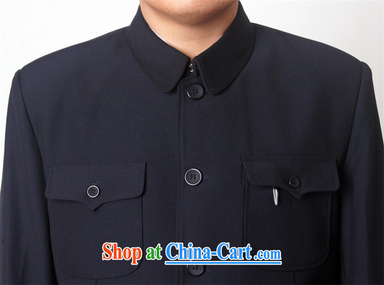 2015 fall and winter new products and leisure, older men smock Kit business and leisure Sun Yat-sen service state to serve older persons package 10, dark blue 185 pictures, price, brand platters! Elections are good character, the national distribution, so why buy now enjoy more preferential! Health