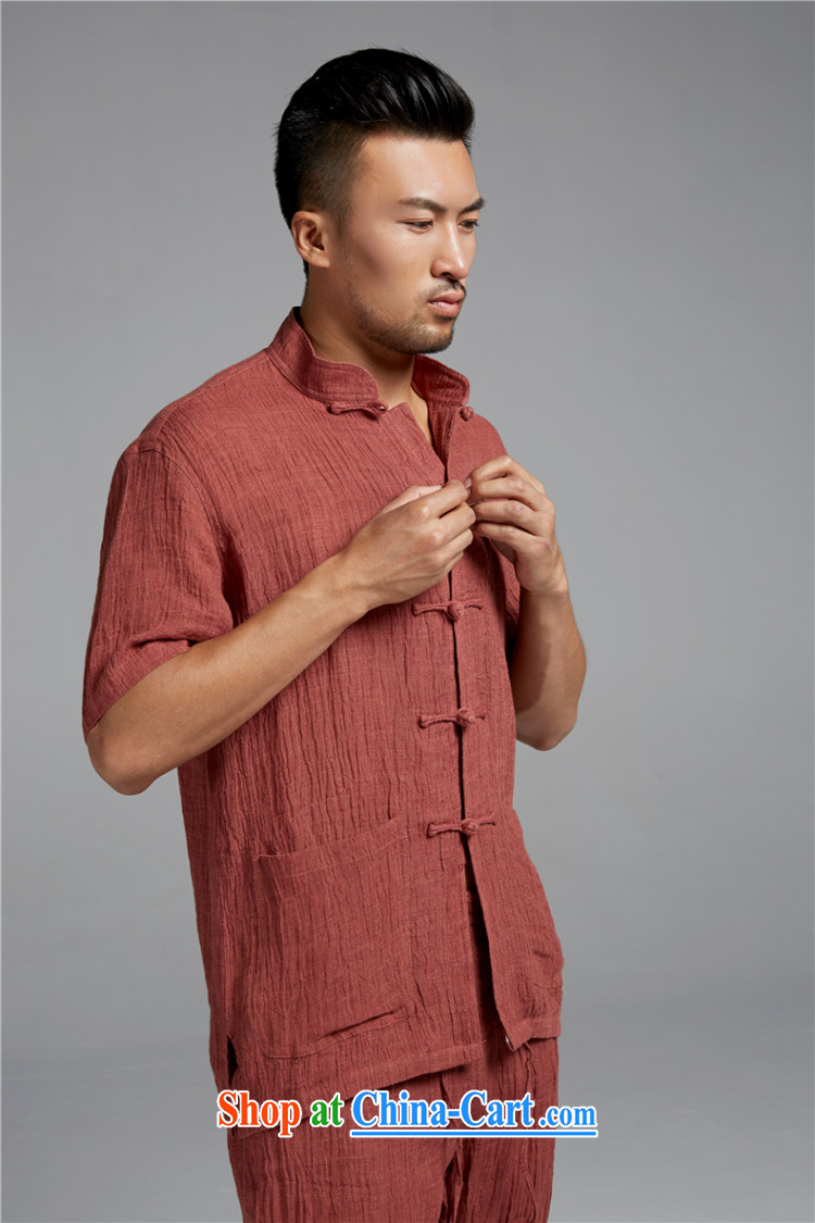 Ask a vegetarian (and health and, for the charge-back T-shirt with short sleeves shirt plain linen WXZ 1374 rusty red XXXL pictures, price, brand platters! Elections are good character, the national distribution, so why buy now enjoy more preferential! Health