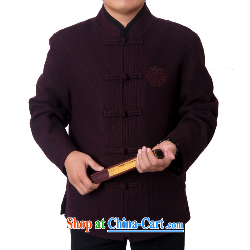 Factory direct new men and Chinese traditions and leisure, for birthday wishes Chinese Chinese Birthday gift, 88,020 190 purple