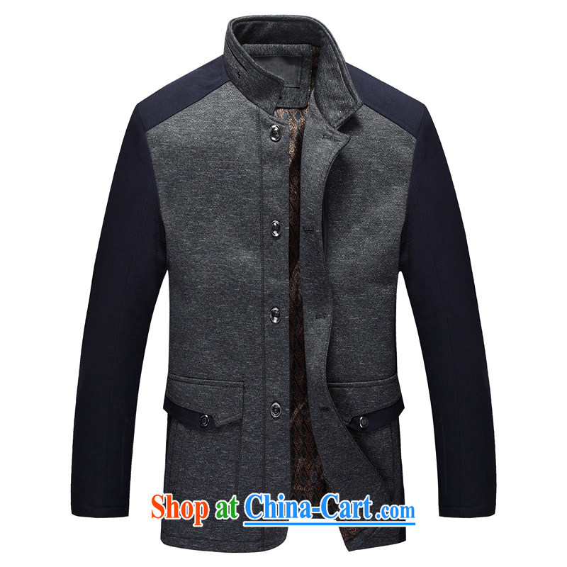 Jordan strong 2014 Chinese men's jacket coat winter with his father in older men's jackets gray 8896 190