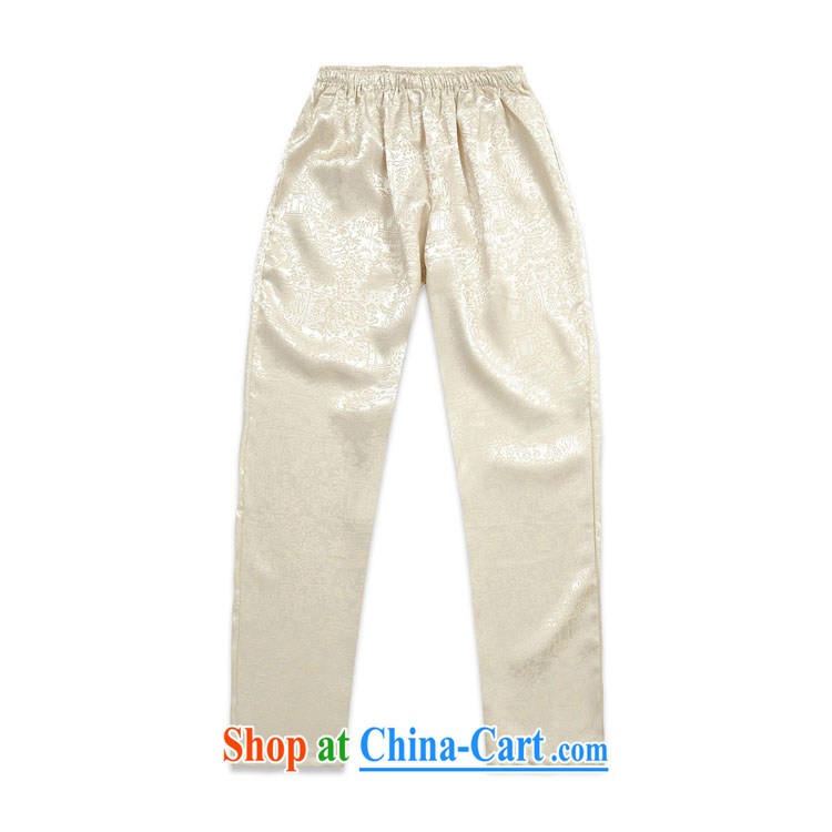 short pants with men and men with Tang Tang pants Tang package blue XXXL