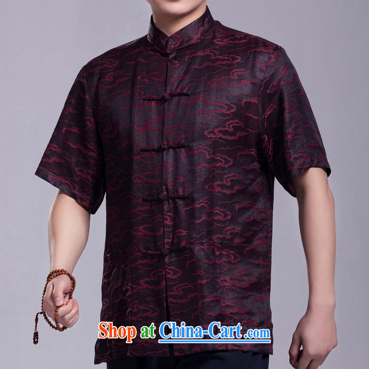 Xiangyun fragrant cloud yarn Tang replacing men short-sleeved summer, older silk shirt such as the 185 / 104 (XXXL) pictures, price, brand platters! Elections are good character, the national distribution, so why buy now enjoy more preferential! Health