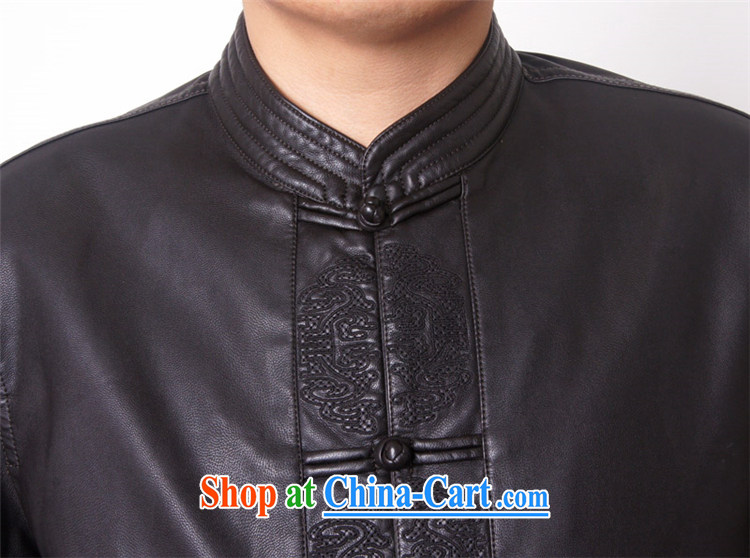 Package-ying, Mr Rafael Hui, and replace the collar high quality thick leather jacket and a leather Chinese Chinese, for Chinese PU jacket 818 black 190 pictures, price, brand platters! Elections are good character, the national distribution, so why buy now enjoy more preferential! Health