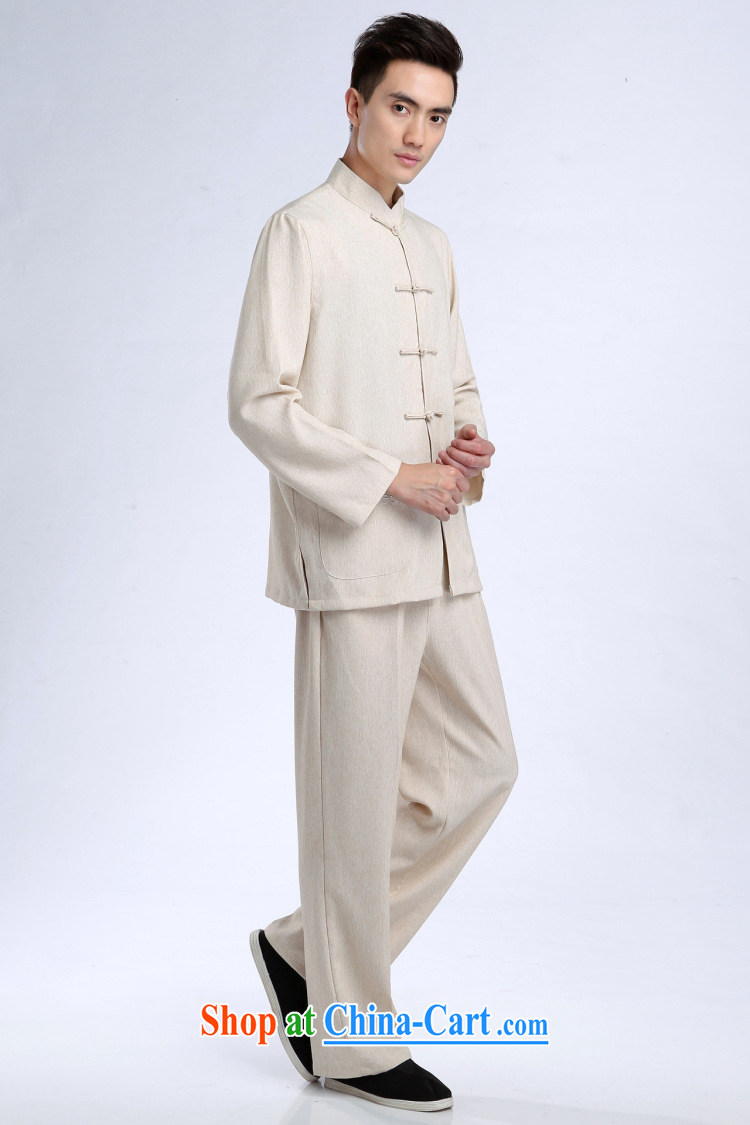 An Jing Tang replacing men long-sleeved jacket, collar cotton linen Tang package loaded T-shirt Kung Fu Tai Chi Kit Kit - 3 Kit XXL pictures, price, brand platters! Elections are good character, the national distribution, so why buy now enjoy more preferential! Health