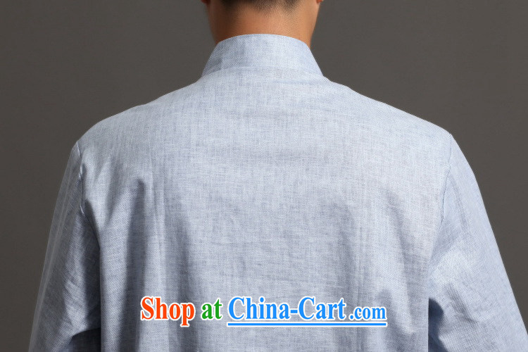 Shanghai, optimize purchase Chinese men's long-sleeved jacket, collar ethnic wind Han-tang - 3 XXXL pictures, price, brand platters! Elections are good character, the national distribution, so why buy now enjoy more preferential! Health
