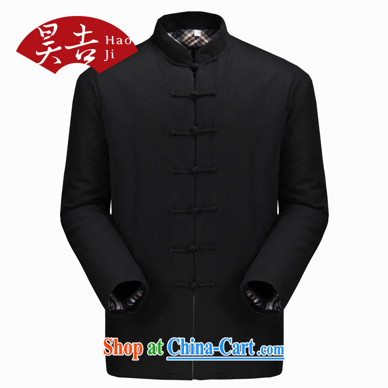 Hao Ji, older men Tang with quilted coat jacket older persons thick cotton clothing parka brigades