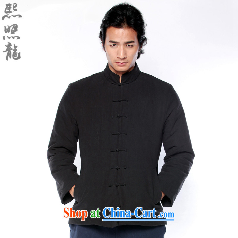 Hee-snapshot Dragon 2014 autumn and winter, Chinese men's long-sleeved shirt thoroughly Chinese cotton Ma folder parka brigades