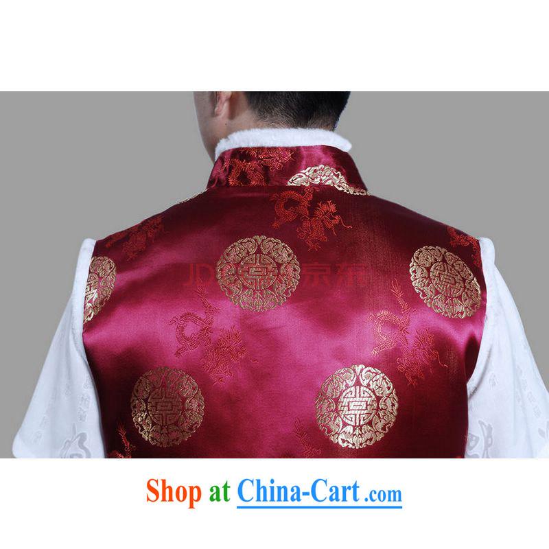 Joseph's cotton men's Chinese T-shirtmen's the cotton A-A black XXL, cotton, Joseph, and Internet shopping