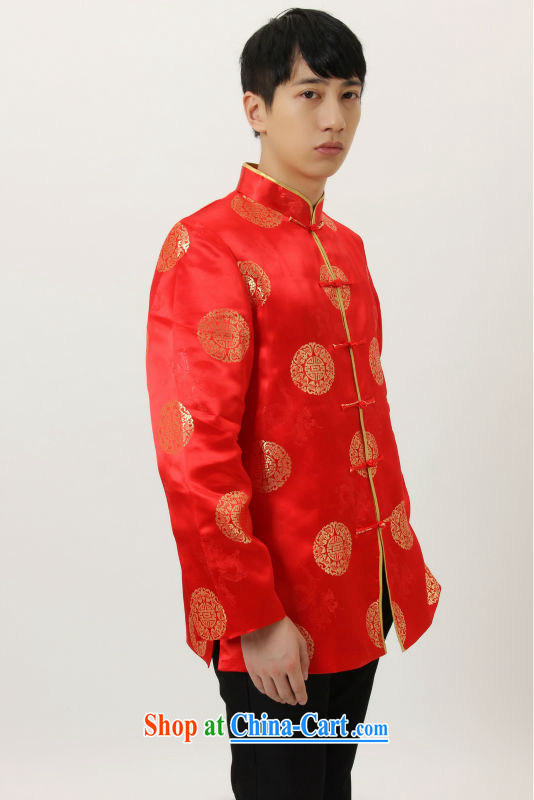Joseph's older Chinese, for Chinese wind dress the life jackets wedding service performance service Chinese men and Chinese M 4006 yellow XXL pictures, price, brand platters! Elections are good character, the national distribution, so why buy now enjoy more preferential! Health