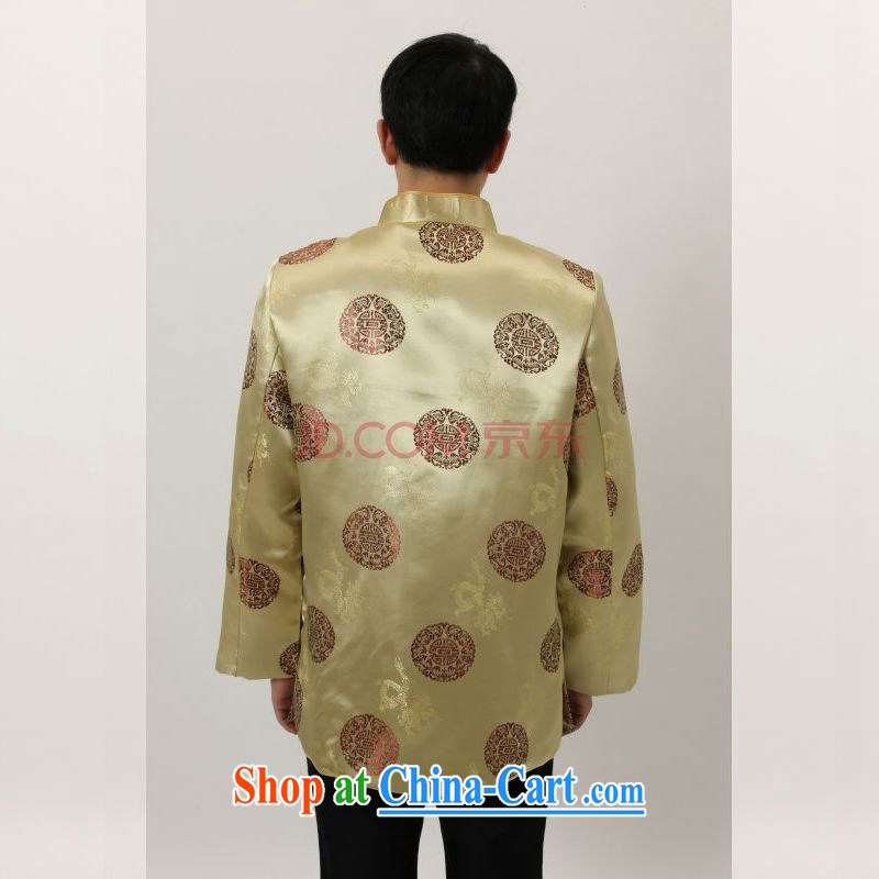 Joseph's cotton in old Tang is a leading Chinese wind dress the Hon Kenneth Ting Woo-shou Yi wedding service performance service Chinese men and Chinese M 4006 yellow XXL mien, Joseph, and shopping on the Internet