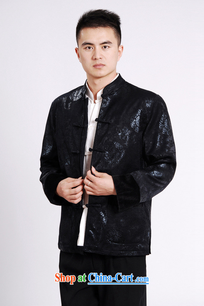 Cotton Joseph Tang replacing men's long-sleeved jacket Tang fitted T-shirt men's jacket water marten hairs Tang with the cotton Thick Red XXXL pictures, price, brand platters! Elections are good character, the national distribution, so why buy now enjoy more preferential! Health
