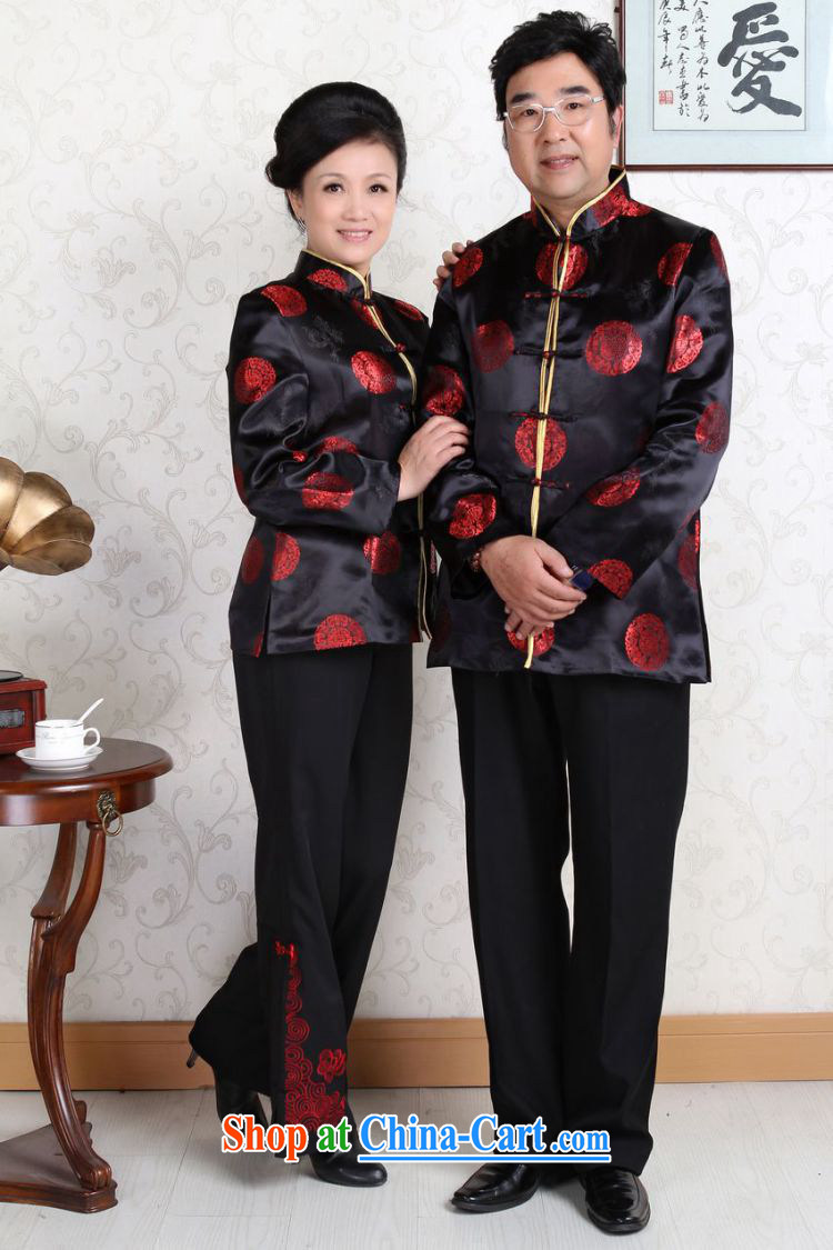 Joseph cotton in older Chinese couples with the leading Chinese wind dress the life jackets wedding stage clothing - D Black men XXXL pictures, price, brand platters! Elections are good character, the national distribution, so why buy now enjoy more preferential! Health