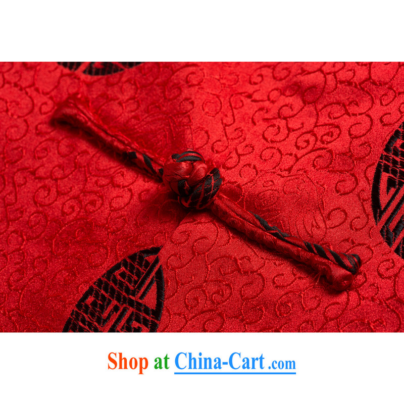 1212 F genuine new male Chinese cotton tang on the collar emulation, the Cotton Chinese Chinese cotton suit Male Red XXXL/190, and mobile phone line (gesaxing), and on-line shopping