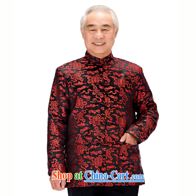 0781 F older women and men in Chinese long-sleeved winter Mom and Dad couples golden birthday and parka brigades