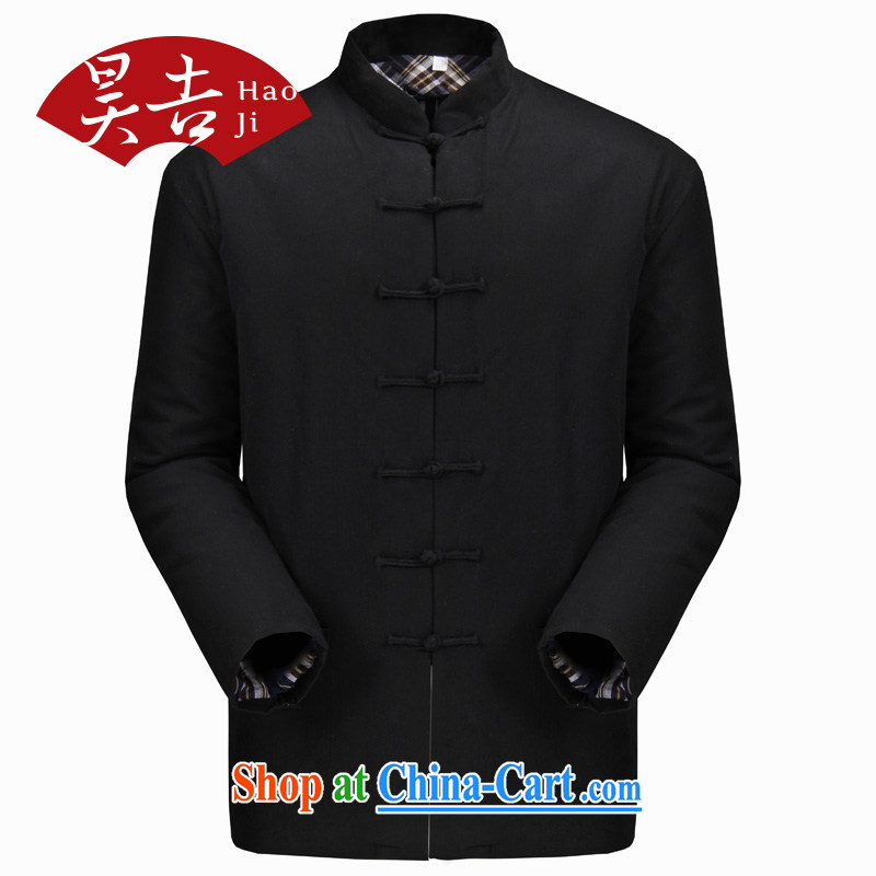 Hao, the older male Chinese winter clothing cotton clothing a purely manual pure cotton removable quilted coat parka brigades