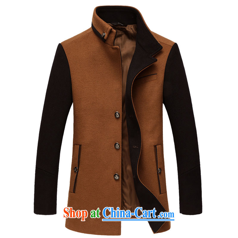 Card The autumn and winter, the men's hair coat so the Installed? sub, for cultivating coat jacket 1158 brown XXXL