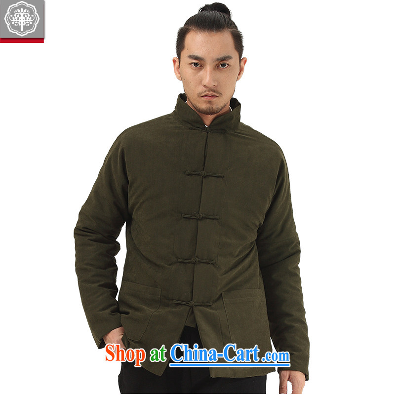 tree and Chinese wind men's Chinese Chinese men's cotton suit jacket thick quilted coat winter clothing Hyun-suk, and tree (EYENSREE), shopping on the Internet